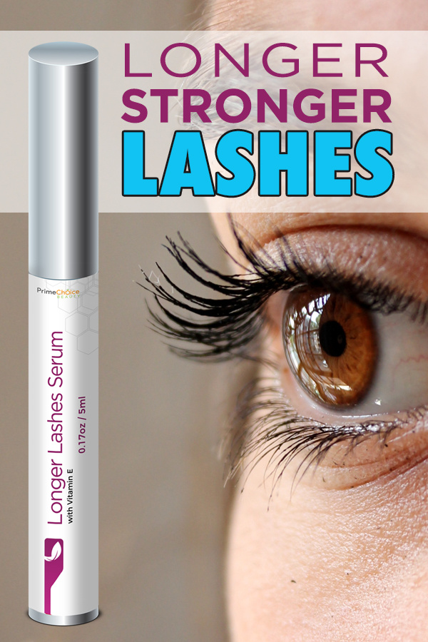 Get beautiful lashes with visible results in just two weeks using Prime Choice Beauty's Longer Lashes Serum with amino acids and vegetable keratin! How to Grow Eyelashes in a Week | Long Lashes in 7 Days | Long Eyelashes Guy | Beauty Tips | Eyelash Tips | Tips for Longer Lashes #beauty #supplements