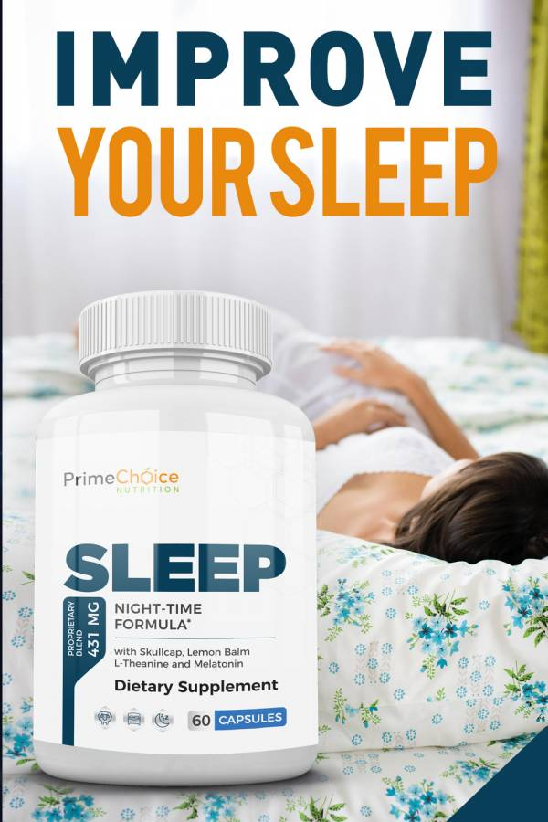 Get the sleep you have been dreaming of with Prime Choice Nutrition Sleep, designed for men and women age 13 and over. Natural Sleeping Remedies | Natural Sleep Aid | Tips for Getting Sleep | Sleeping Tips for Health | Sleeping Facts | Home Remedies for Deep Sleep #sleep #health