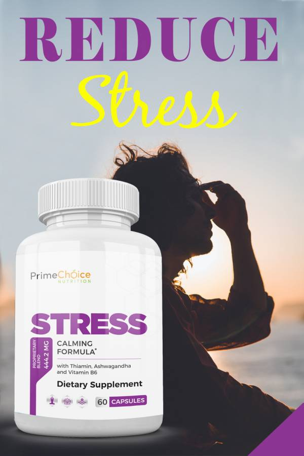 De-stress and discover the positives in each day with Prime Choice Nutrition Stress. Vitamins for Stress Relief | Natural Supplements |Tips for Stress and Anxiety | Calming Tips | Natural Stress Relief | Tips for Dealing with Stress #stress #health