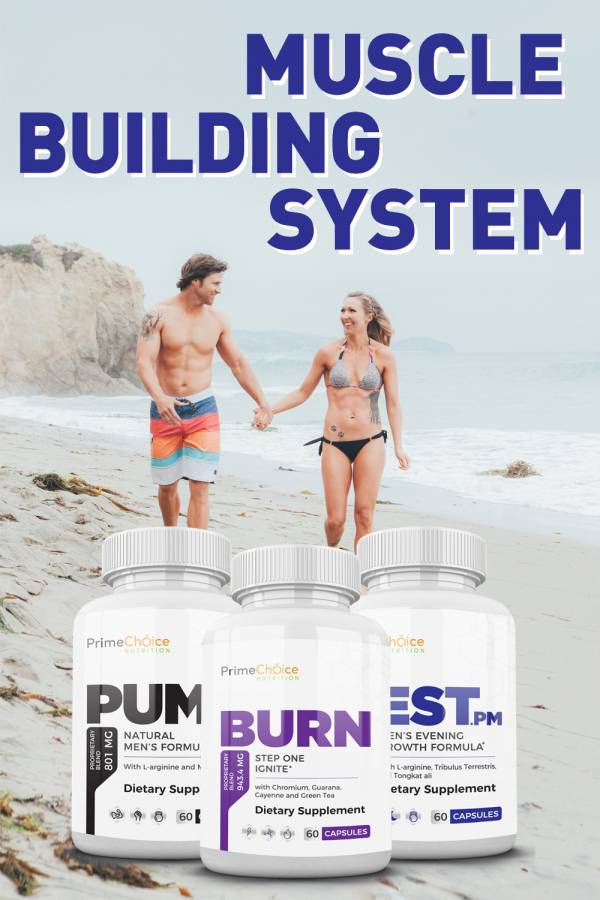 Increase blood flow, burn more fat, and build more muscle with the Muscle Building System bundle. You will love the increased stamina that results! Evidence Based Weight Loss Pills | Weight Loss Supplements | Fitness Supplements | Supplements for Muscle Gain | Weight Loss Pills | Health Tips | Tips for Losing Weight #weightloss #fitness