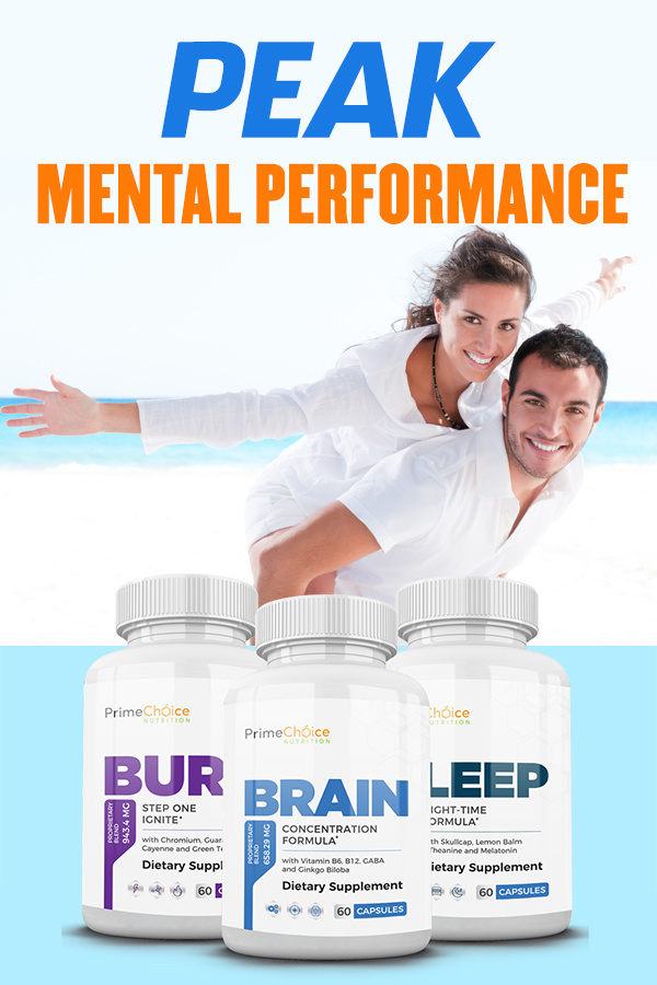 Feel well rested, energized, and alert each day with the Peak Mental Performance System! Save money and supercharge your performance! Brain Supplements for Adults | Do Brain Supplements Work | Memory Supplements | best Supplements for memory and Concentration | Natural brain Boosters | Vitamins for Brain Memeory and Concentration | Dietary Supplements and Sports Performance | Pre Workout Supplements | Herbal Supplements for Brain Health #brainhealth #supplements
