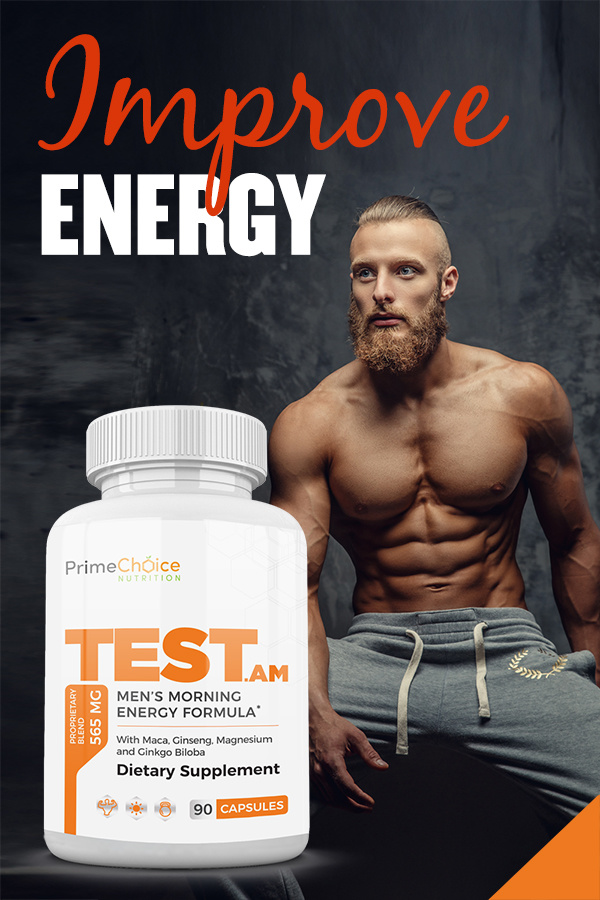 Energize your day and increase mental clarity with Prime Choice Nutrition and Beauty TEST.am while fueling workout results. Natural Testosterone Boosting Supplements | How to Boost testosterone Naturally and Quickly | Men's Health Tips | Tips for Men | Healthy Living Tips for Men | Men's Health Supplements | Health Supplements for Testosterone #health #men