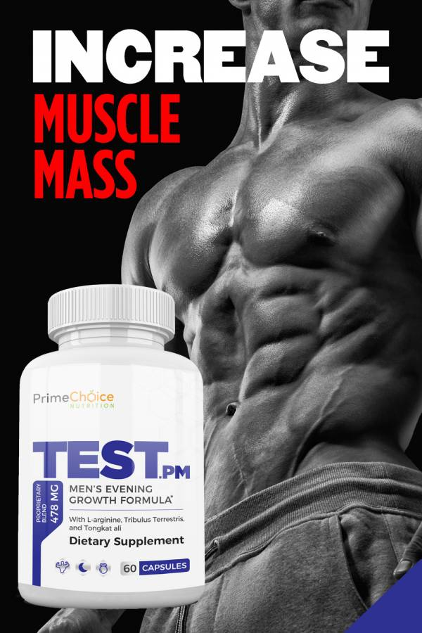 Test.pm from Prime Choice Nutrition is an all-natural health supplement that helps increase stamina and energy so you can get your youth back. Supplements for Men over 40 | Supplements for Men Over 50 | Workout Supplements for Men | Vitamin Supplements for Men | Energy Supplements for Men | Testosterone Supplements That Work | Men's Health Supplements #menshealth #supplements