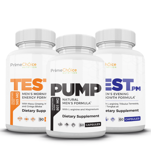 Increase stamina and improve blood flow to maximize workouts and your overall male endurance with our Testosterone Boosting System.