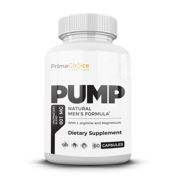 With PUMP from Prime Choice Nutrition, increased blood flow will help deliver nutrients and give you a more vascular, pumped appearance.