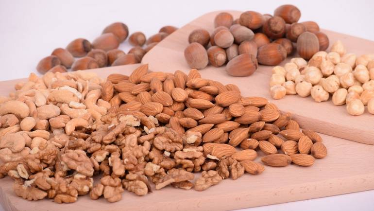 Make Ahead Snack Recipes with Nuts