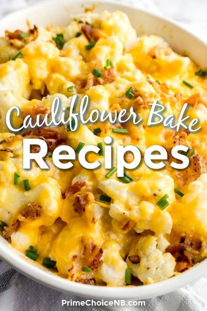 These healthier, cauliflower bake recipes can get you started and introduce you to the low-carb side of easy family meals. Healthy Low Carb Recipes | Keto Recipes for Weight Loss | Cauliflower Rice Recipes | Low Carb Cauliflower Recipes | Cauliflower Bake Low Carb #lowcarb #recipes