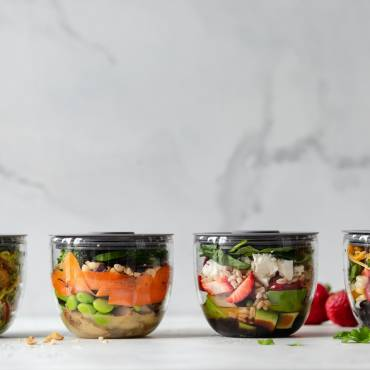 Make Ahead Lunch Salads to Take to Work