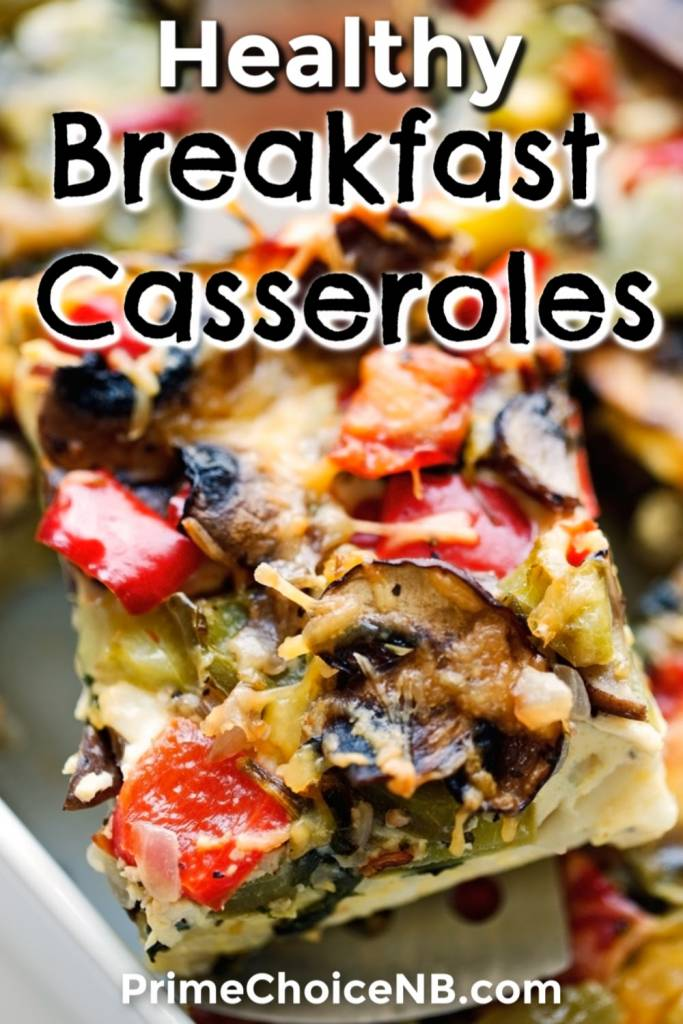 Healthy breakfast casseroles are also easy to make and help everyone start the day with the fuel they need! Crockpot Breakfast Casserole | Crescent Rolls Breakfast Recipe | Hash Browns Casserole Recipe | Make Ahead Breakfast Casserole | Vegan Breakfast Casserole Easy #breakfast #recipe