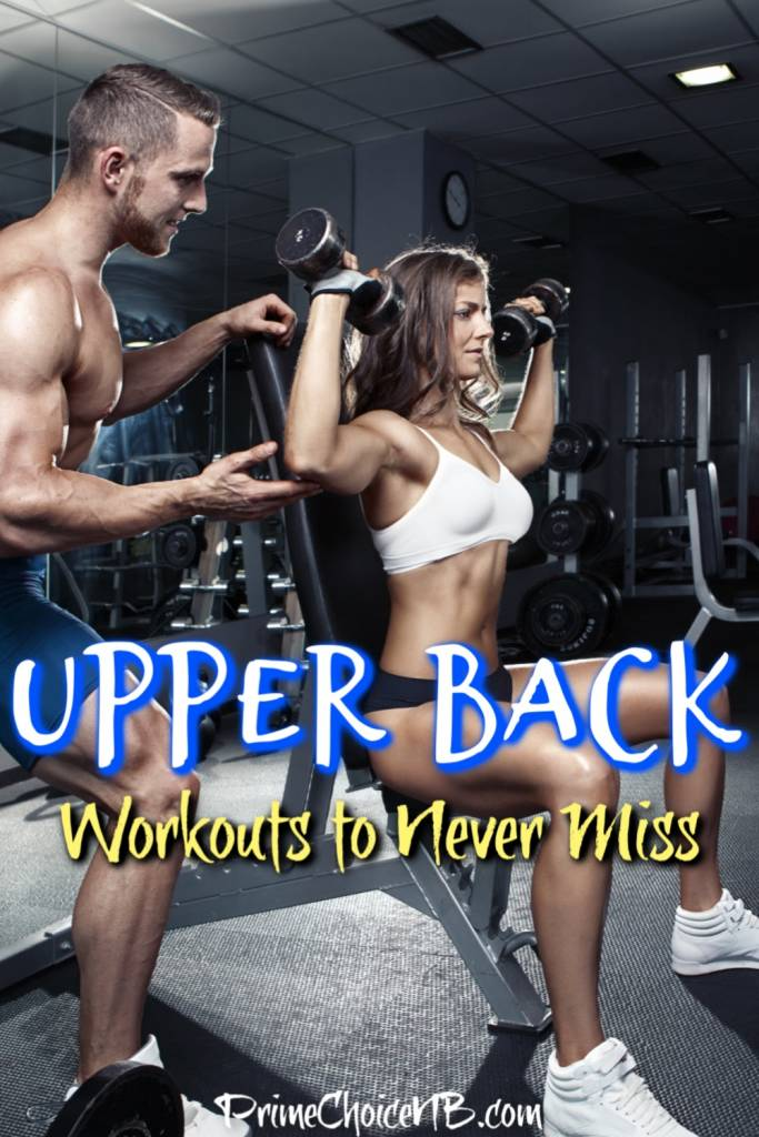 Upper back workout moves can help improve your posture and sculpt your upper back to enhance the appearance of a smaller waist. Upper Body Exercises | Exercises to do at Home | Upper Body At Home Workouts | Back Workouts for Women and Men | Upper Back Exercises for Pain | Tips to Improve Posture #workout #fitness